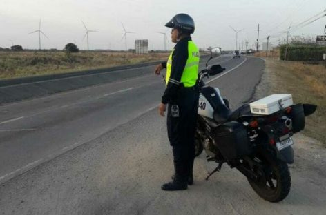 Policía de tránsito colocó casi 7.000 infracciones este fin de semana