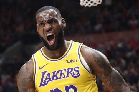 LeBron James comandó victoria de Lakers ante Spurs