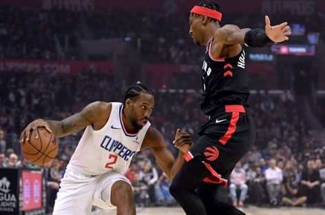 Kawhi Leonard comandó triunfo de los Clippers ante Raptors