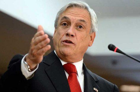 Piñera asegura que no habrá impunidad para la violencia en Chile