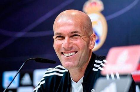 Zidane: «Estoy enamorado de Mbappé»
