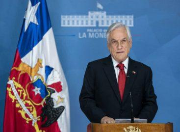 Piñera propone Ley Antisaqueos tras ola de protestas