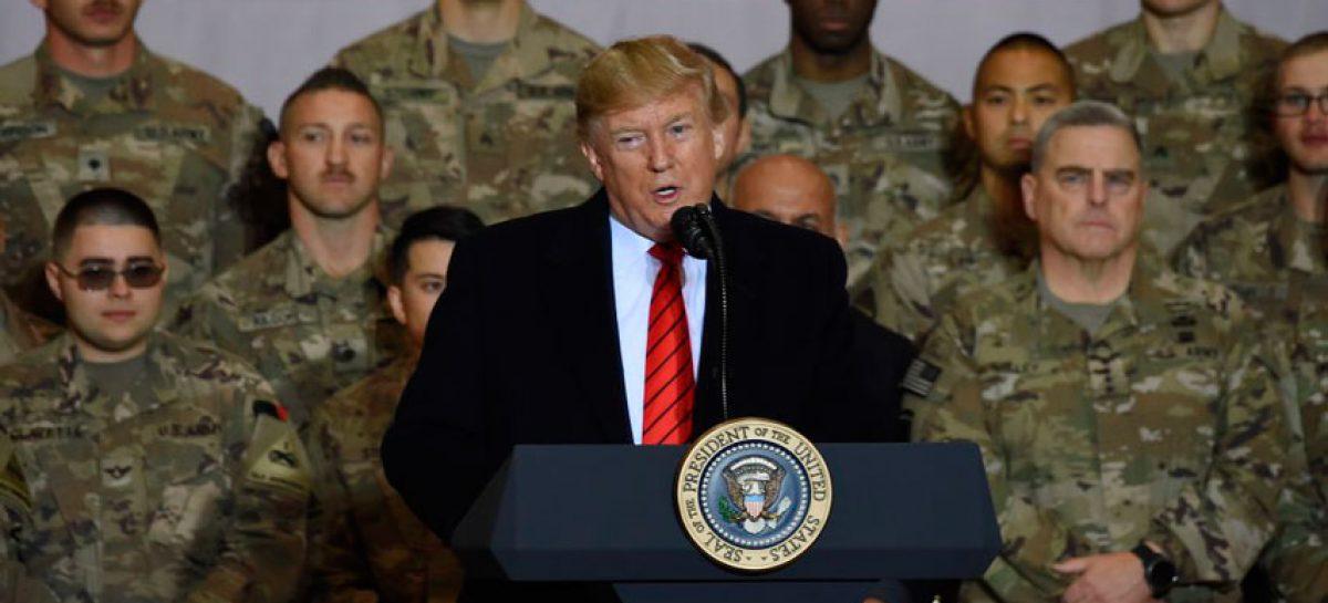 Estados Unidos espera declaración de Trump sobre ataque iraní