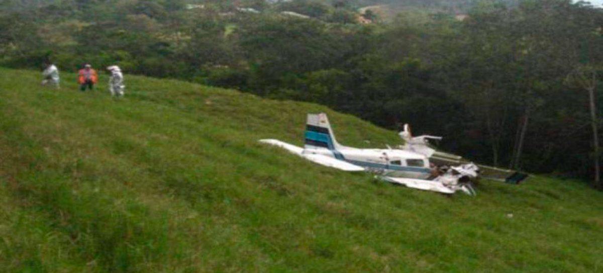 Accidente de avioneta de transporte de valores deja tres muertos en Colombia