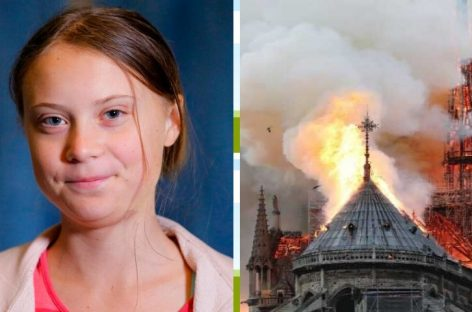 Greta Thunberg y Notre Dame, tendencias mundiales 2019 Google
