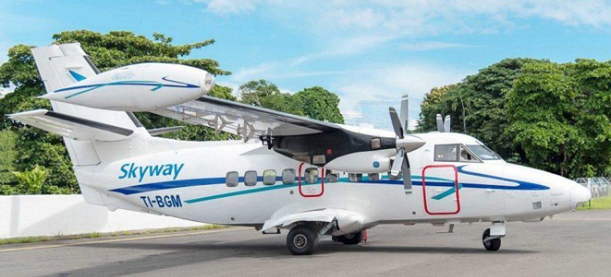 Aerolínea de Costa Rica inaugura nuevo vuelo directo a Bocas del Toro