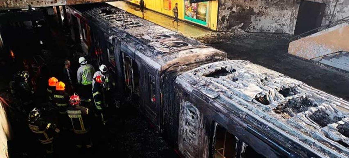 Chile asegura injerencia extranjera en ataques al metro de Santiago