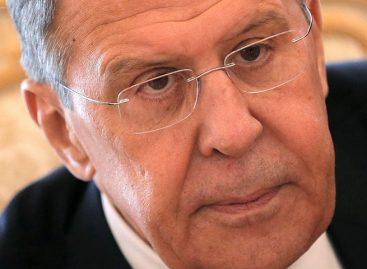 Lavrov denunció que la diplomacia de EEUU se limita a la intimidación