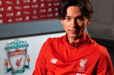 Liverpool fichó al atacante japonés Takumi Minamino