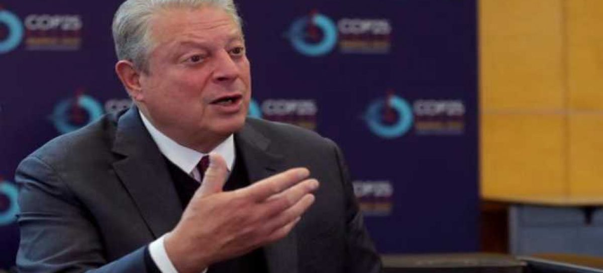 Al Gore: Defensa climática es prioritaria para EEUU pese a Trump