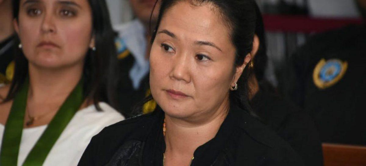 Poder Judicial de Perú pide anular sentencia que liberó a Keiko Fujimori