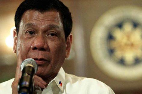 Duterte prohíbe los viajes de su gabinete a EEUU en medio de tensiones