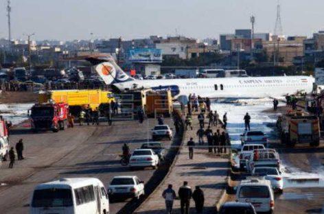 Avión de pasajeros afgano se estrella en este de Afganistán