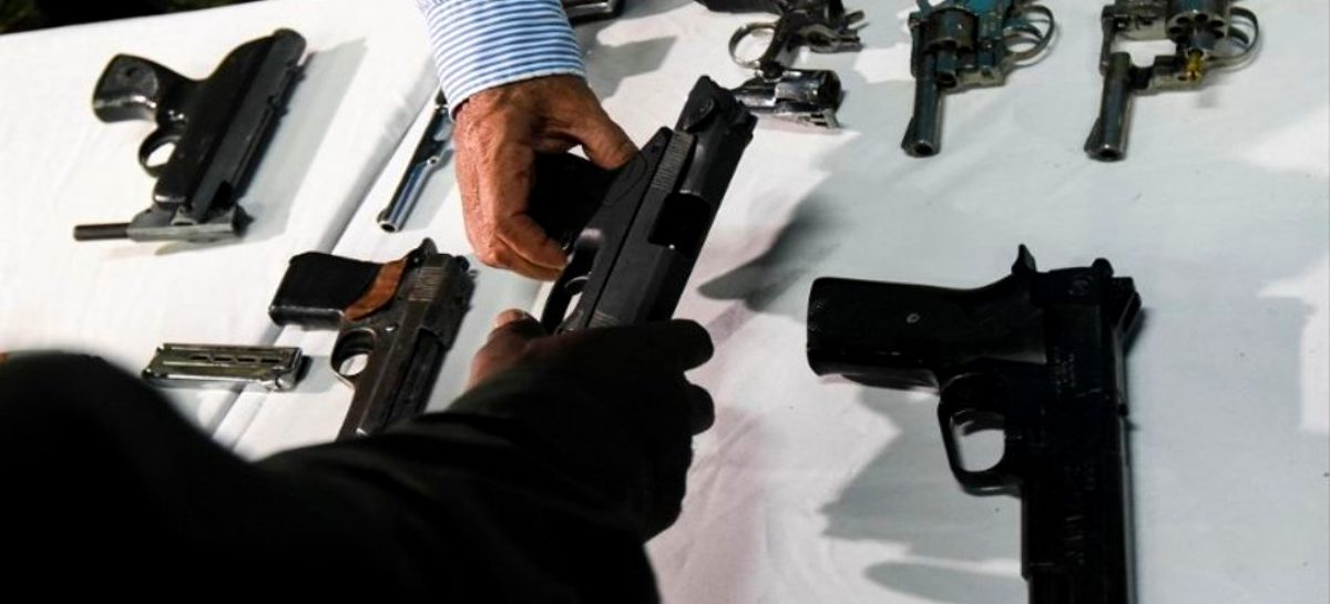 Mirones anunció que veda de importación de armas quedó sin efecto