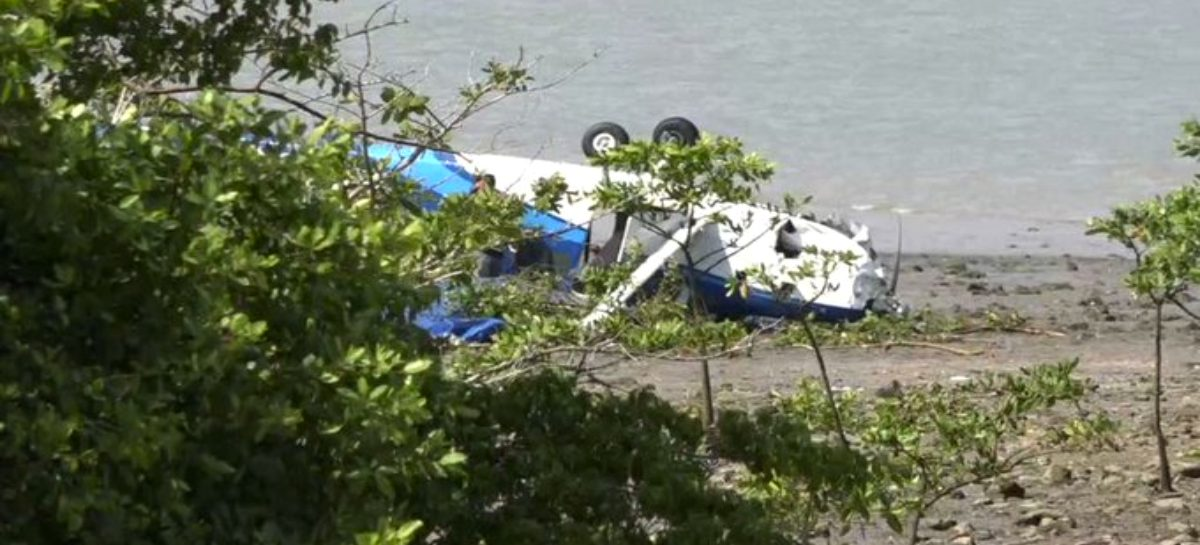 Avioneta con pasajeros franceses cayó en Veracruz: Reportan 3 heridos  (+Videos)