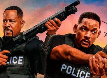 «Bad Boys for Life» conserva sin problemas el liderato en los cines de EEUU