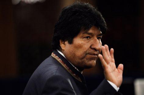 Proponen a Morales postularse a diputado o senador en las elecciones de mayo