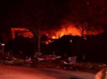 Reportan explosión al noroeste de Houston