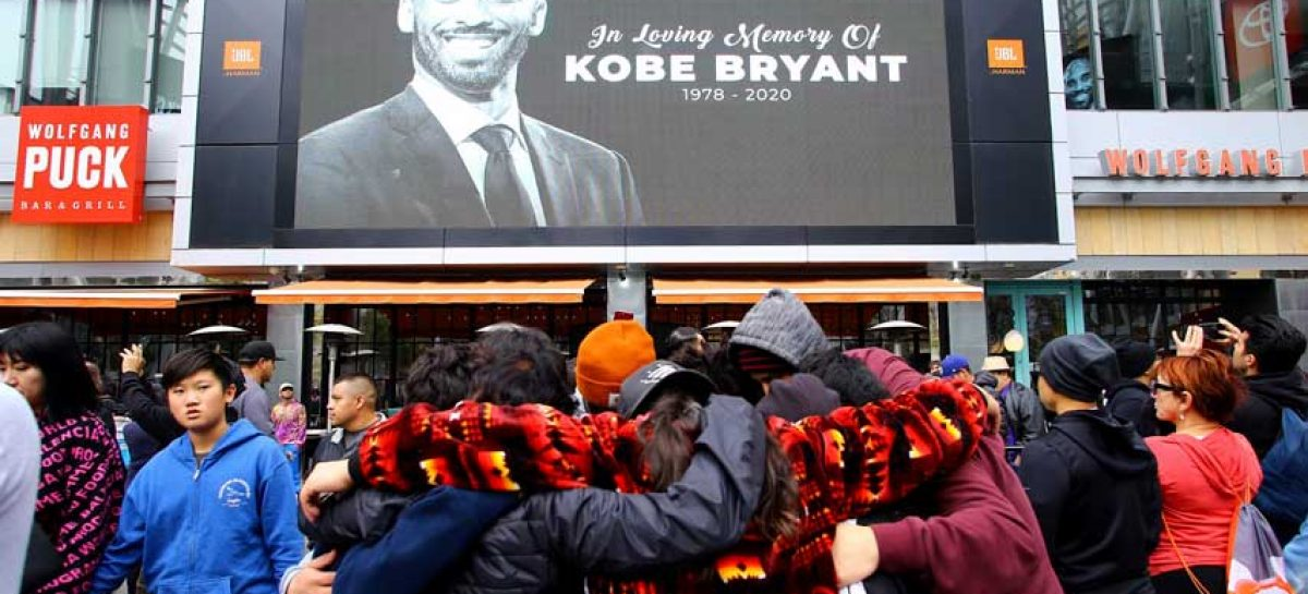 Los Lakers suspenderán jornada NBA contra Clippers en honor a Kobe
