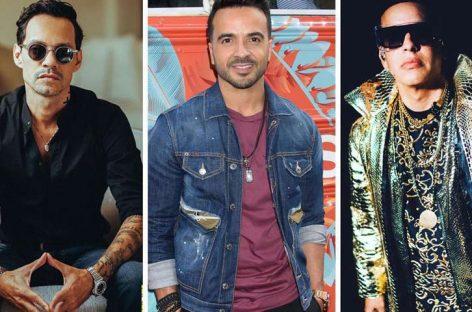 Marc Anthony, Fonsi y Daddy Yankee dan aliento a Puerto Rico tras el sismo
