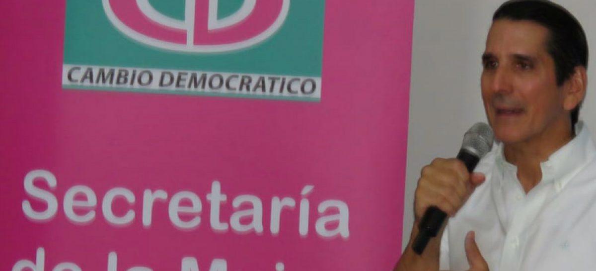 Rómulo Roux: Mujeres son clave para el futuro de CD y del país