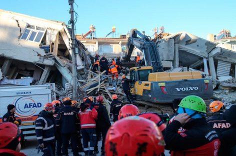 Termina operación de rescate en Turquía por el terremoto con 41 muertos