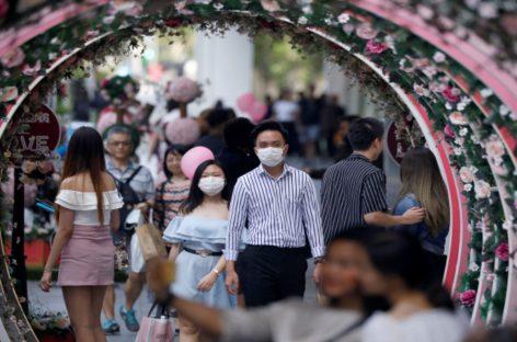 El coronavirus arruinó los planes de Día de San Valentín en China
