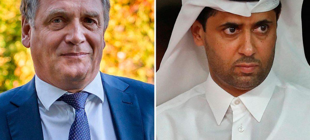 Exsecretario general de la FIFA y Presidente del PSG, acusados de corrupción
