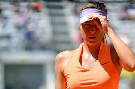 María Sharápova anunció su retiro del tenis profesional