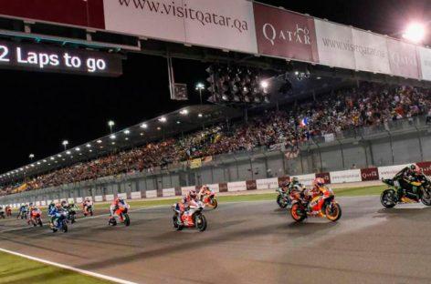 Mundial de MotoGP 2020 abrirá en Catar