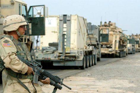Cohetes impactan en base militar iraquí con presencia de tropas de EEUU