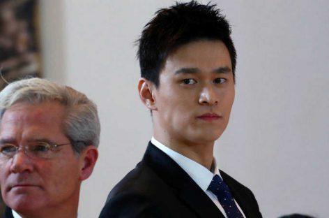 El chino Sun Yang, suspendido ocho años por dopaje