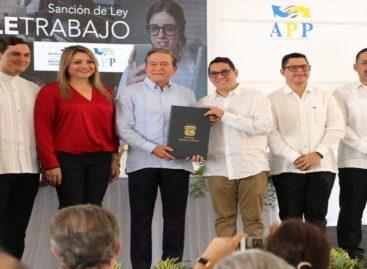 Cortizo sancionó la ley que regula el teletrabajo en Panamá