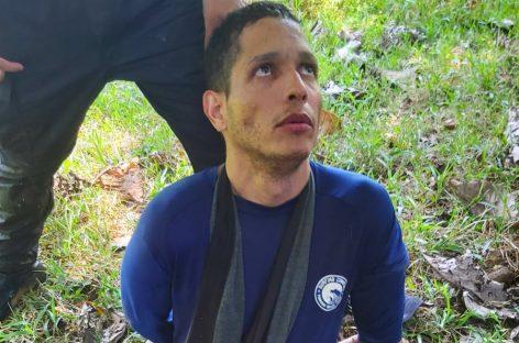 Las primeras imágenes de Ventura Ceballos tras ser recapturado en Chiriquí (+Fotos)