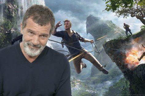 Antonio Banderas se unirá a Tom Holland y Mark Wahlberg para «Uncharted»