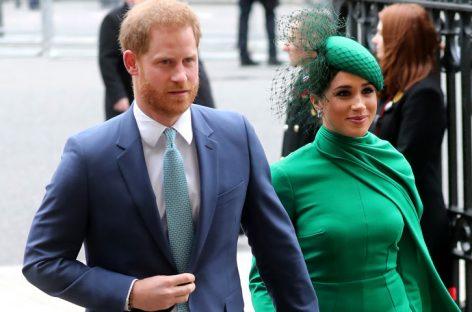 Enrique y Meghan se despiden de la realeza