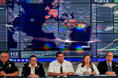 Reportan primer muerto por coronavirus en Panamá y confirman otros ocho casos del virus