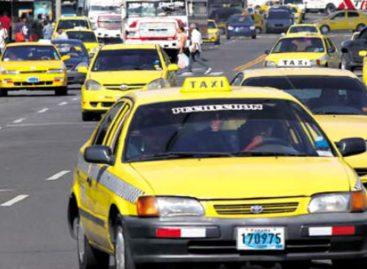 Amplían horario de circulación de taxis hasta las 9:00 p.m.