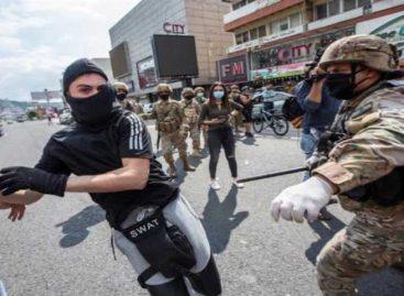 Bancos cerrados tras protestas con un muerto en norte del Líbano