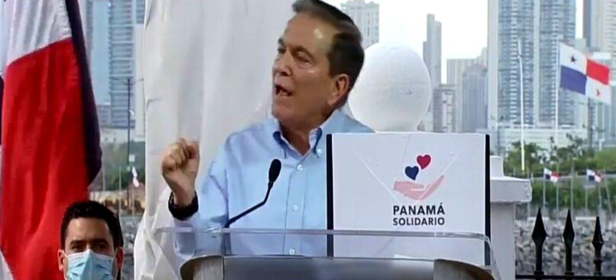 Cortizo promete que habrá «urgencia y transparencia» en las compras públicas