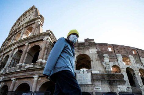 Italia mantiene baja en decesos y contagios por el virus