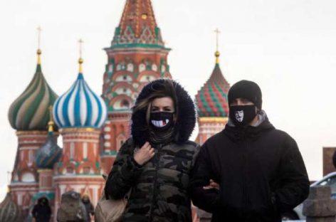 Rusia supera a Reino Unido e Italia en casos de COVID-19