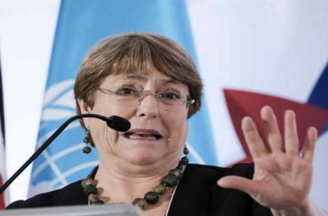 Bachelet: Pandemia mostró que sistema económico produce desigualdades