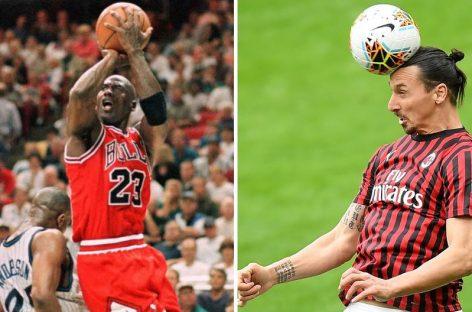 Zlatan comulga con las formas de liderazgo de Michael Jordan