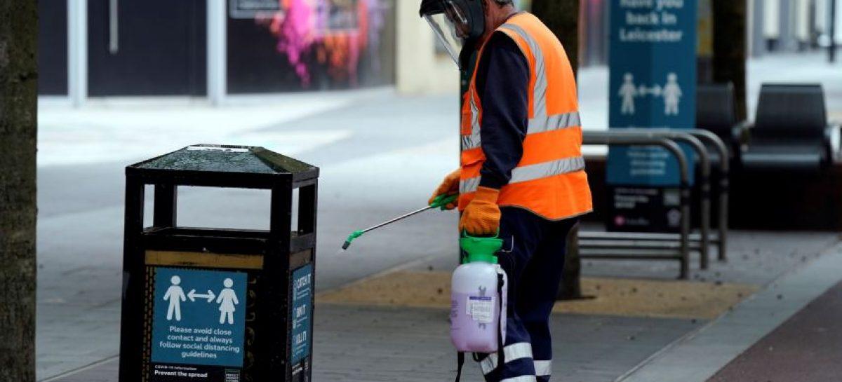 Confinada ciudad de Leicester tras aumento de casos de covid-19