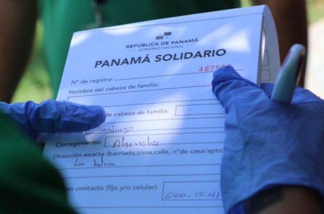 Cortizo anunció aumento del bono Panamá Solidario a 100$