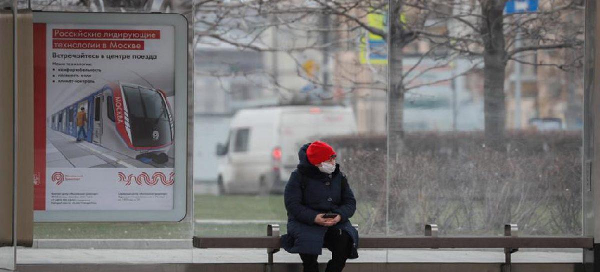 Rusia suma más de 6 mil casos de covid-19 en un día