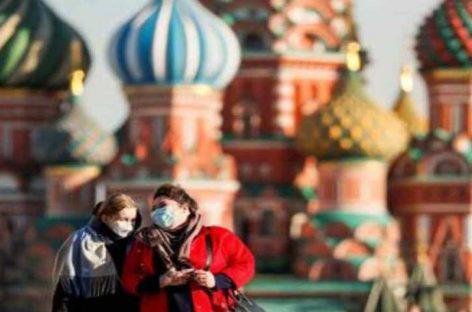 Repuntan contagios en Moscú foco de la infección en Rusia