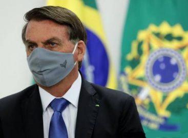 Bolsonaro vuelve a dar positivo a covid-19