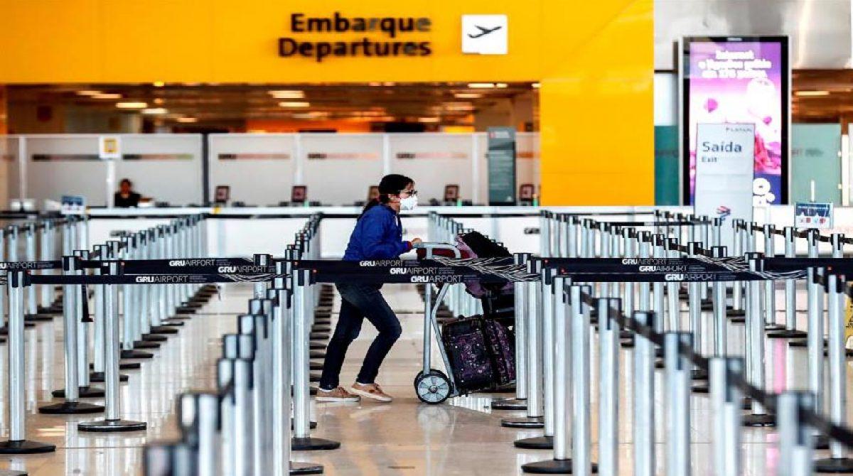 Brasil flexibiliza la entrada de extranjeros por vía aérea